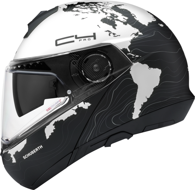 Schuberth C4: avance del casco en YouTube